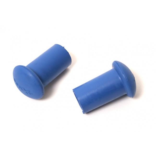 Utbytesfötter till Axess gångstavar - Blå hård