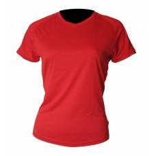 Tränings T-Shirt Newline Base Coolskin Tee Röd Dam