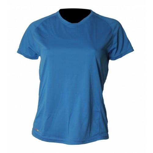 Tränings T-Shirt Newline Base Coolskin Tee Blå Dam