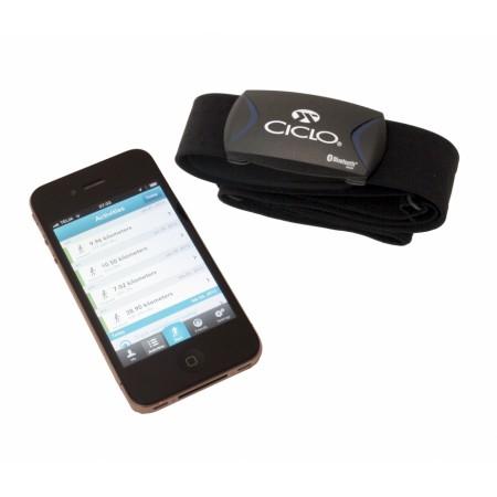 Pulsband Bluetooth 4.0 till Smartphone - Ciclosport BLE HRM -Softbelt
