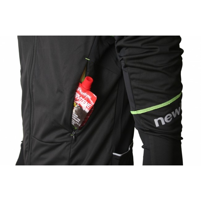 Cykeljacka Newline Bike Protect LS Jersey Black/Yellow