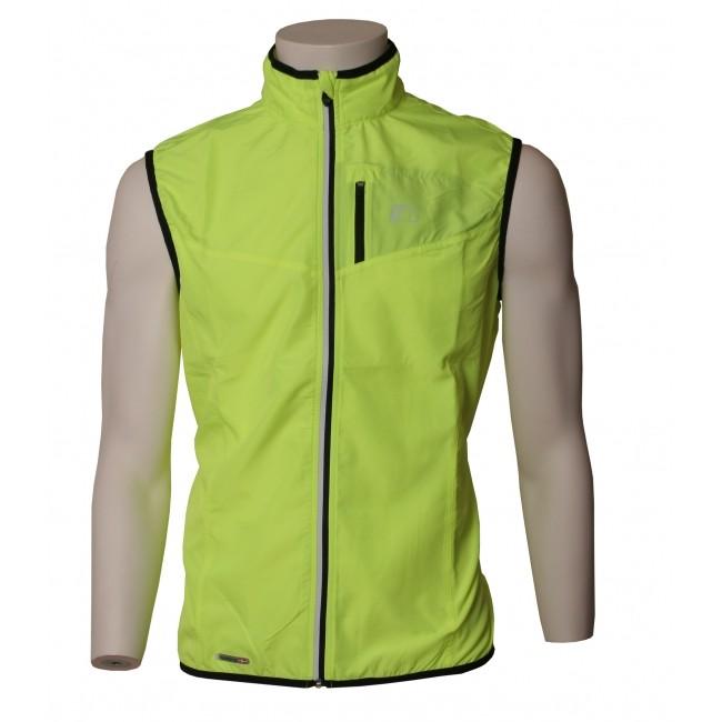 Löparväst Newline Base Tech Vest Neongul