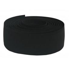 Styrlinda med silicon baksida - PRO Svart