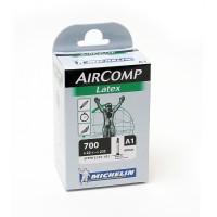 Cykelslang Michelin Aircomp Latex 22/23x622 Presta 60mm