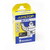 Cykelslang Michelin Airstop 26 x 1,1-1,5 Prestaventil 40mm