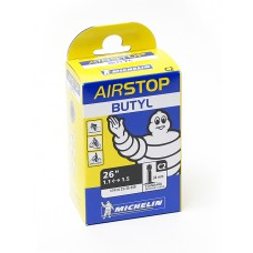 Cykelslang Michelin Airstop 26 x 1,1-1,5 Schraderventil