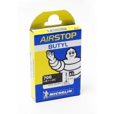 Cykelslang Michelin Airstop 18/23x622 Presta 52mm