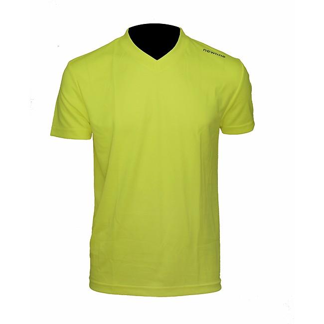 Newline Base Cool Tee T-shirt Herr Neongul