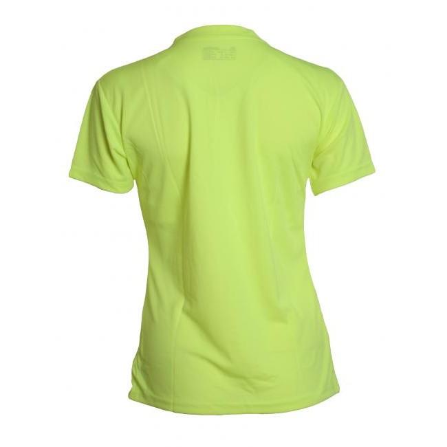 Newline Base Cool Tee T-shirt Dam Fluro Gul