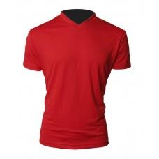 T-Shirt Röd Herr
