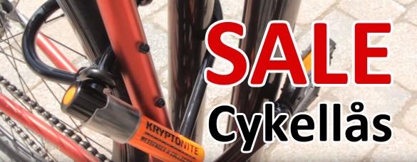 Kampanjpriser på cykellås