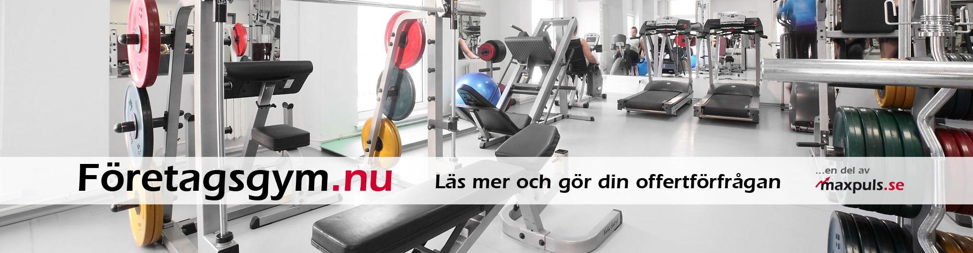 Gymutrustning till företag och privatpersoner!