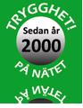 Trygghet sedan år 2000!